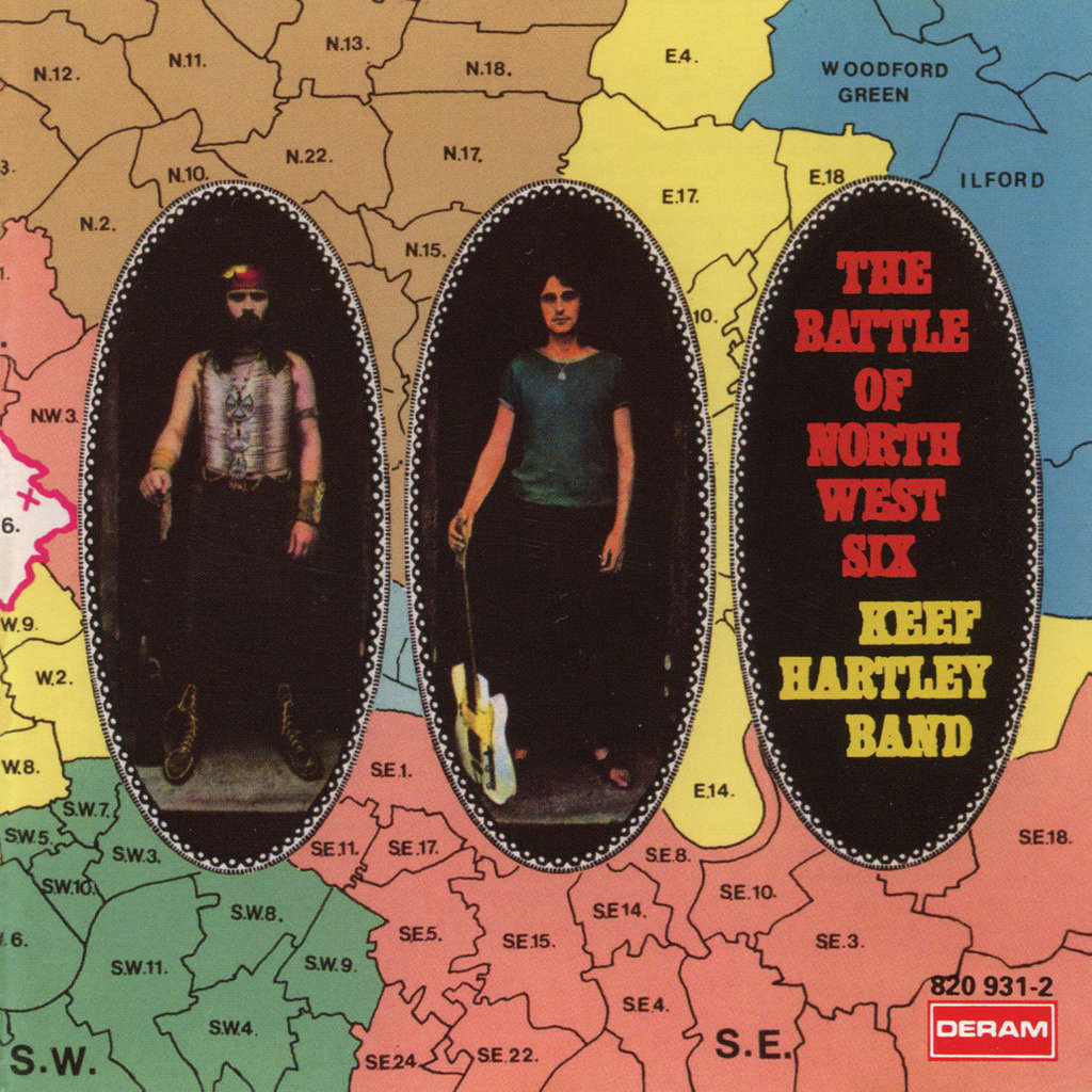 Keef Hartley Band The Battle Of North West Six