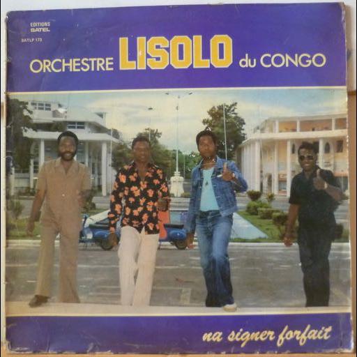 ORCHESTRE LISOLO DU CONGO Na signer forfait