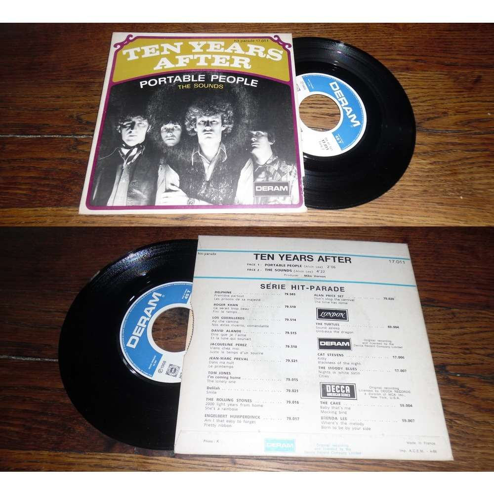 Ten Years After Portable People / The Sounds