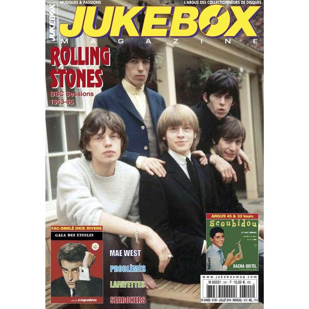 N°391 (JUILLET 2019) ROLLING STONES MAGAZINE - JUKEBOXMAG.COM