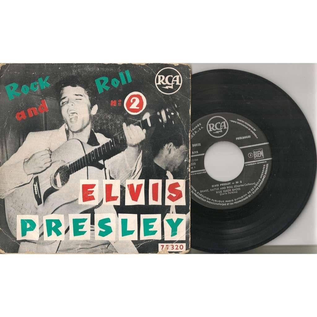 elvis presley 1 black label noir EP france 1957 rock and roll n°2 RCA 75320