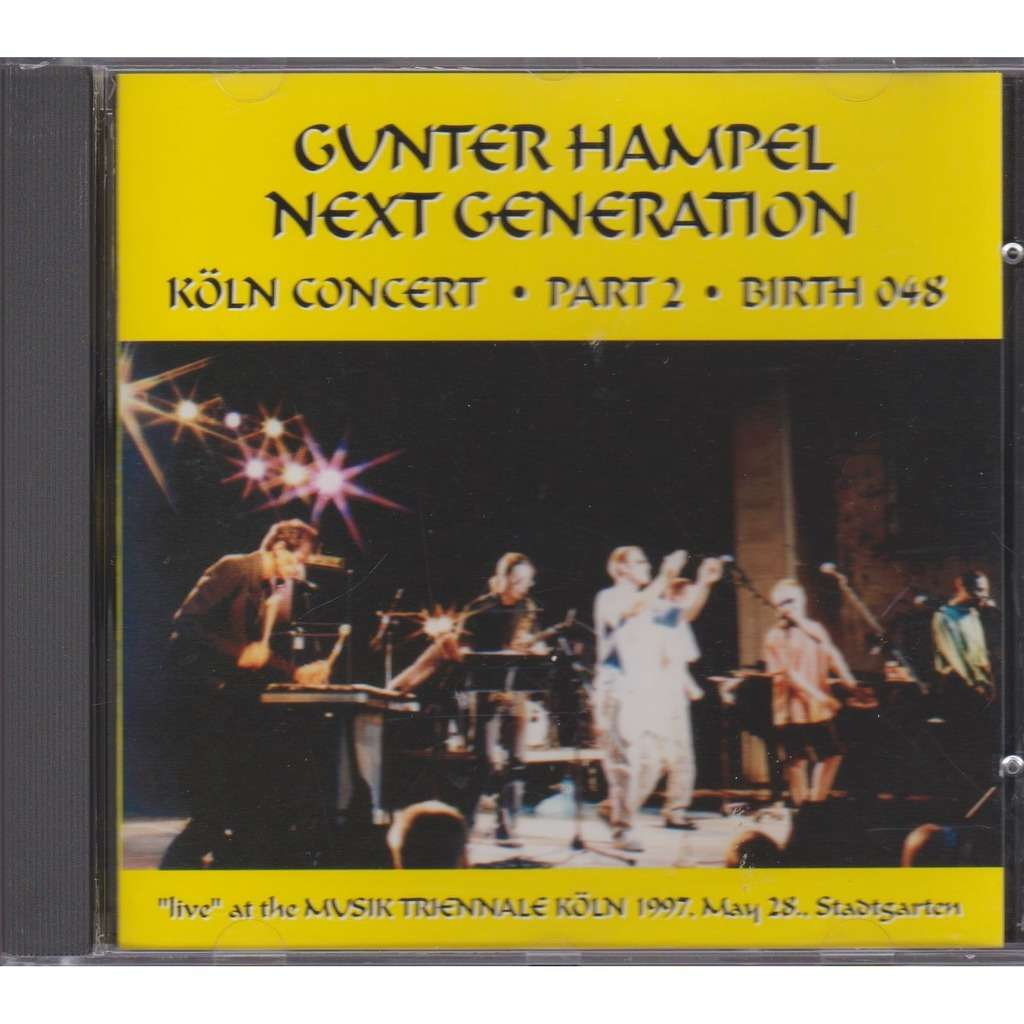 gunter hampel next generation koln concert part 2