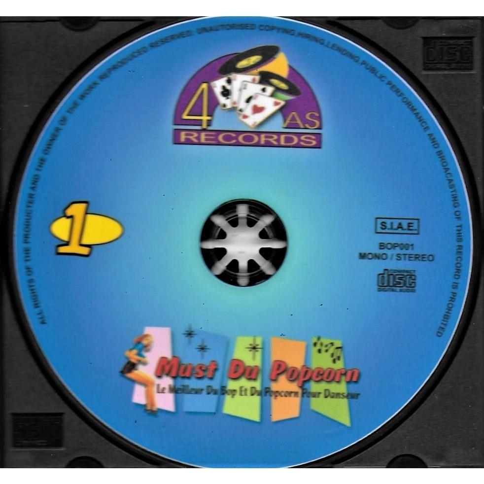 Monty, Lucky Shakes & The D.T. Rollers, Alf Newman Must du Popcorn 1 - Le Meilleur Du Bop Et Du Popcorn Pour Danseur