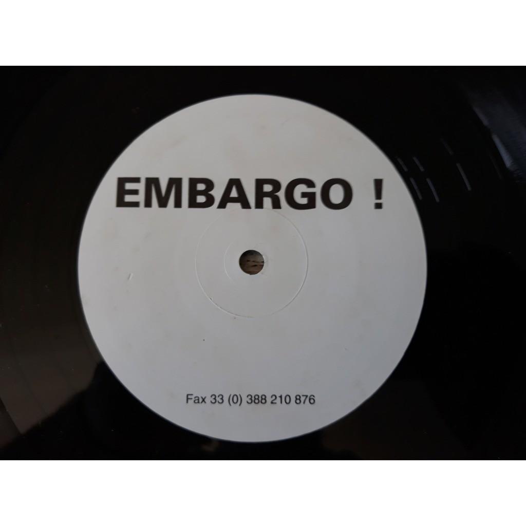 Embargo !* - Embargo ! (12, S/Sided) Embargo !* - Embargo ! (12, S/Sided)