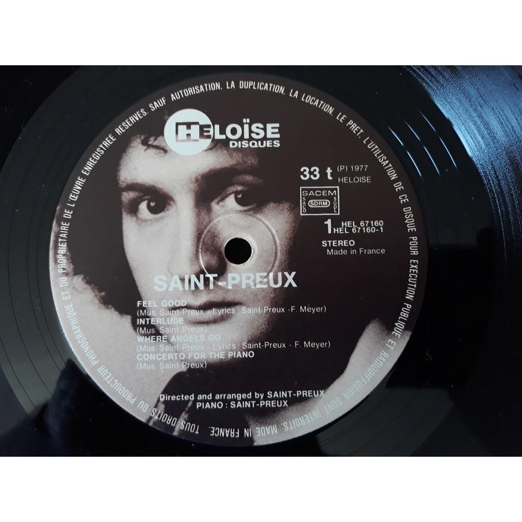 Saint-Preux - Saint-Preux (LP, Album, Gat) Saint-Preux - Saint-Preux (LP, Album, Gat)