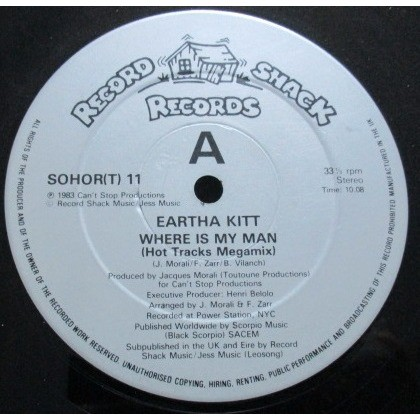 Eartha Kitt Where Is My Man (Hot Tracks Megamix)