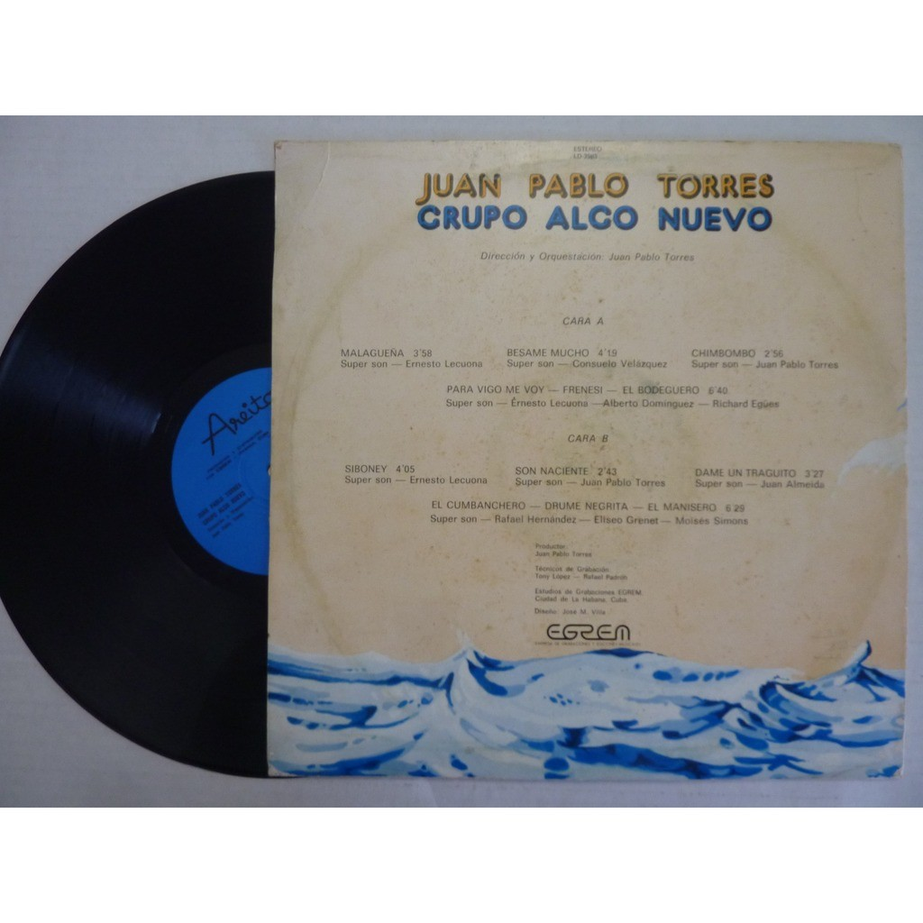 Juan Pablo Torres Grupo Algo Nuevo