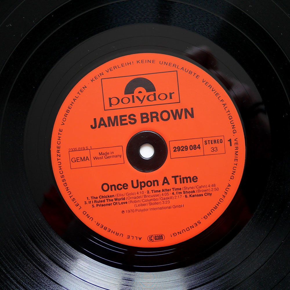 James Brown Once Upon A Time