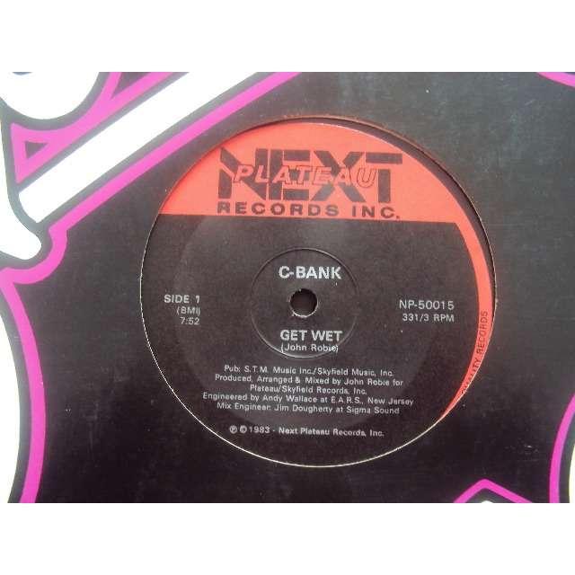 C-BANK get wet (3 mixes) 1983 usa