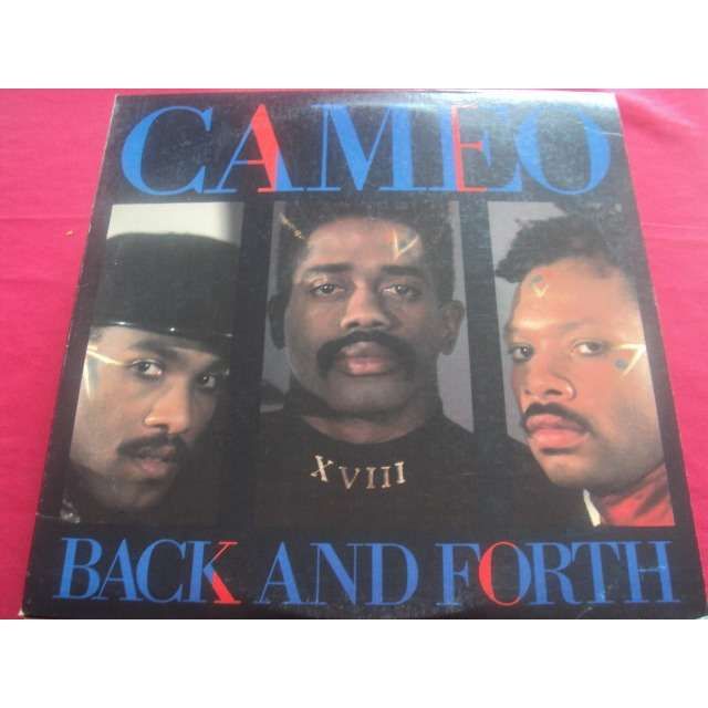 CAMEO BACK AND FORTH (12 CLUB REMIX / 7 VERSION / DUB MIX) 1986 USA