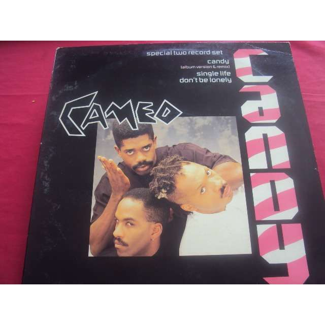 Cameo Candy (LP VERSION / REMIX) / SINGLE LIFE / DON'T BE LONELY 1986 UK