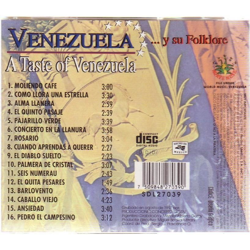VENEZUELA A TASTE OF VENEZUELA