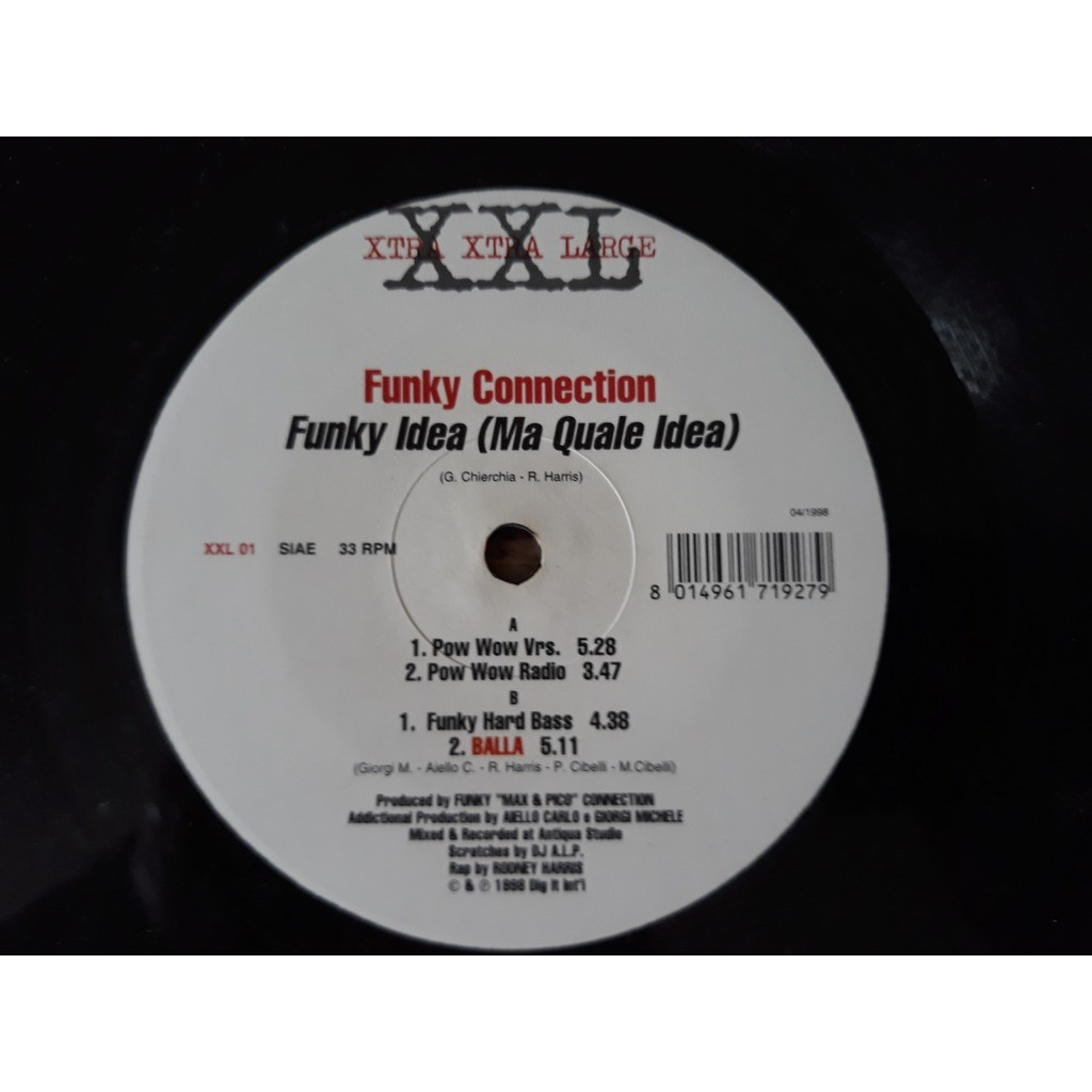 Funky Connection - Funky Idea (Ma Quale Idea) (12 Funky Connection - Funky Idea (Ma Quale Idea) (12)