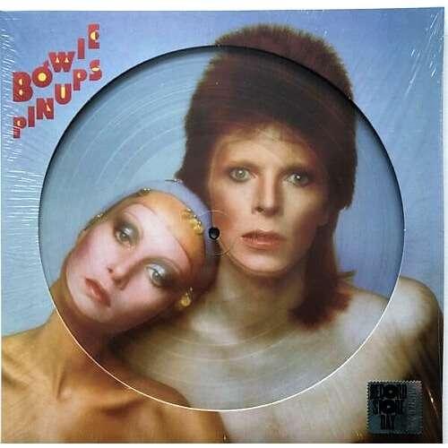 David Bowie Pinups (UK 2019 Ltd 4000 copies 'RSD' 12-trk LP Picture Disc die-cut ps)