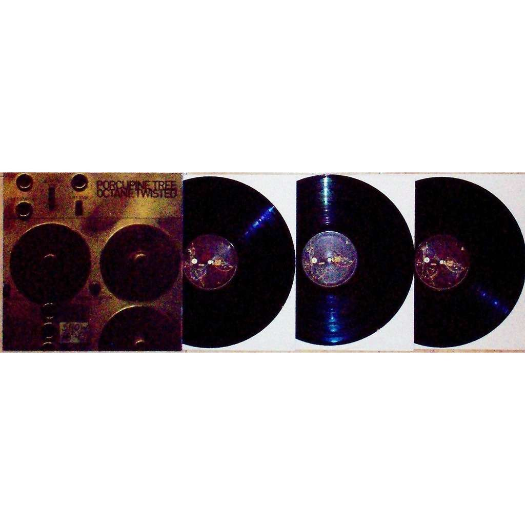 Porcupine Tree Octane Twisted - Incident Tour 2010 (Chicago 30.04.2010 etc) (Euro 2012 re Ltd 3LP set full gf ps)