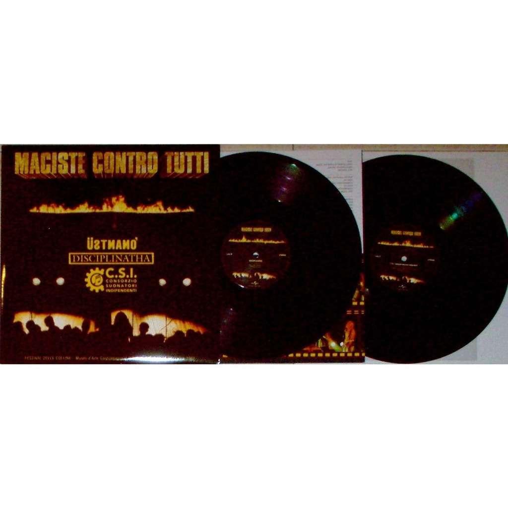 CCCP / CSI / Ustmamo / Disciplinatha Maciste Contro Tutti (Italian 2017 Ltd re 12-trk 2LP set full gf ps+inner slv)