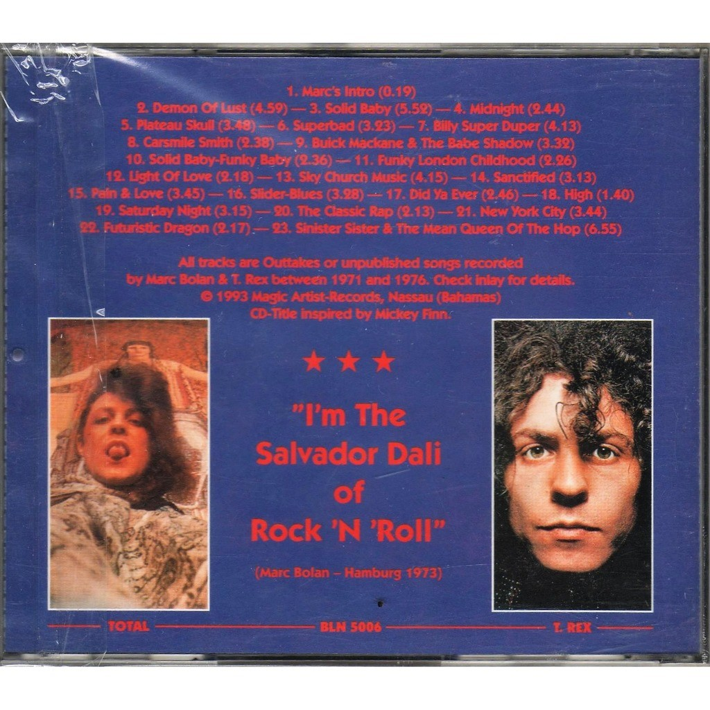 T.Rex Total T.Rex And The Space Cadets (Outtakes & Unpublished 1971-1976)