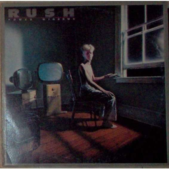 Rush Power Windows (Italian 1985 original 8-trk LP full ps+inner slv!)