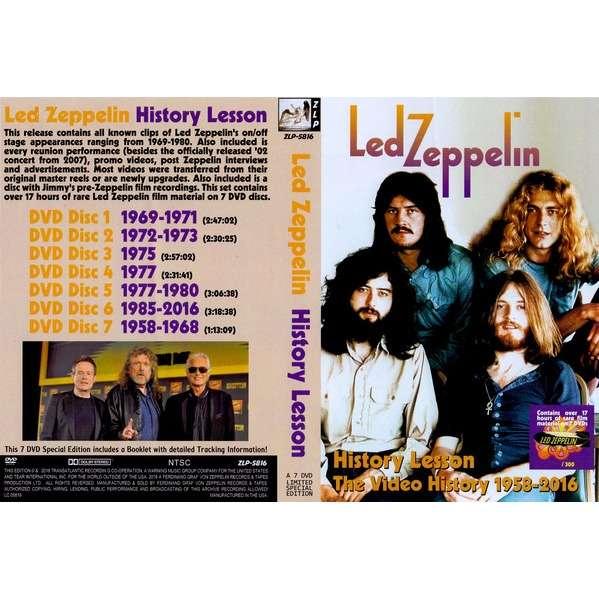LED ZEPPELIN History Lesson