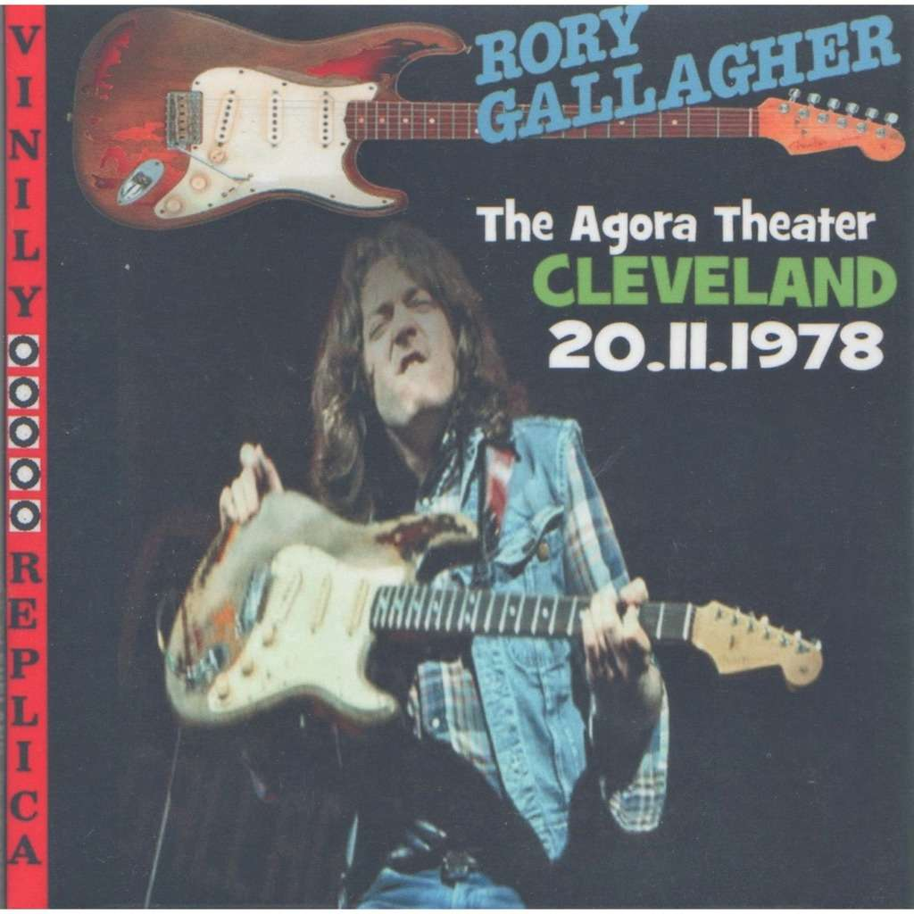 Rory Gallagher / Taste Live At 'Agora Theater' (Cleveland USA 20.15.1978)