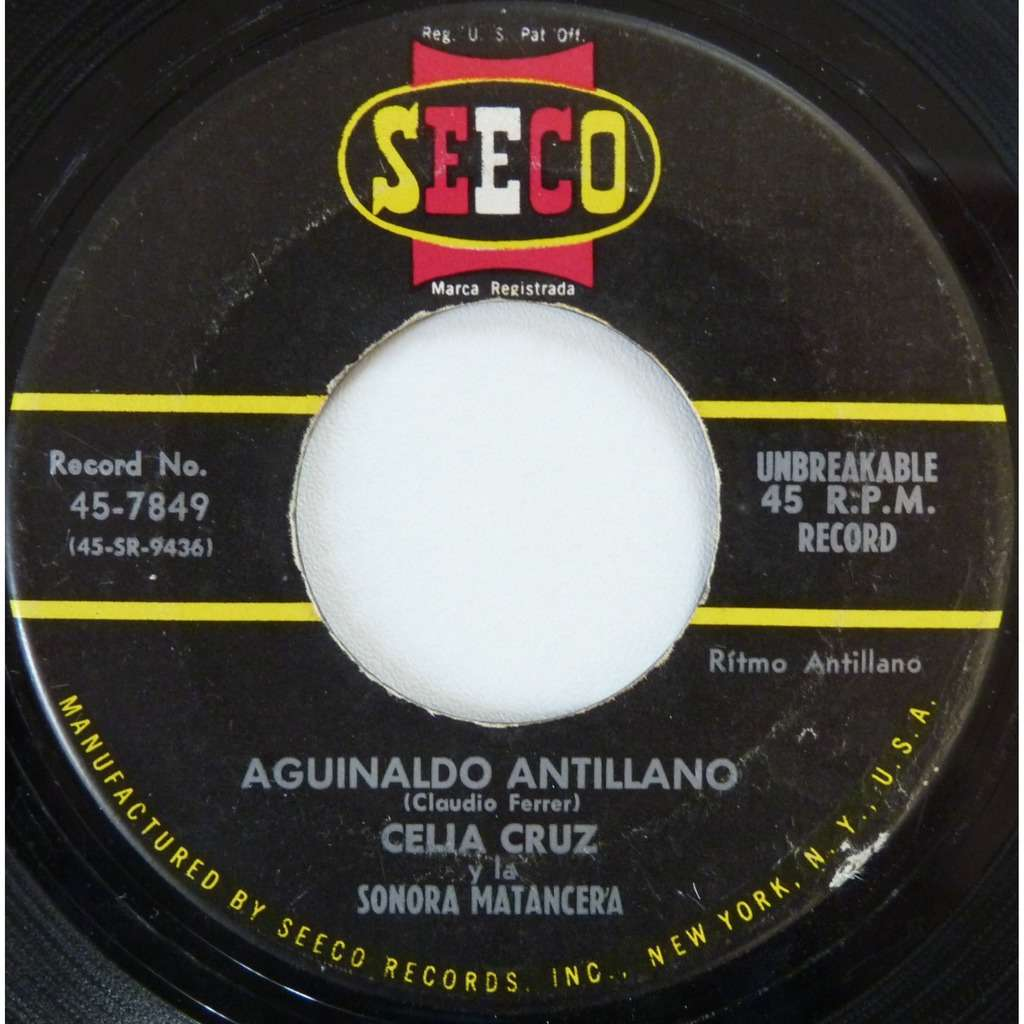 celia cruz jingle bells / aguinaldo antillano