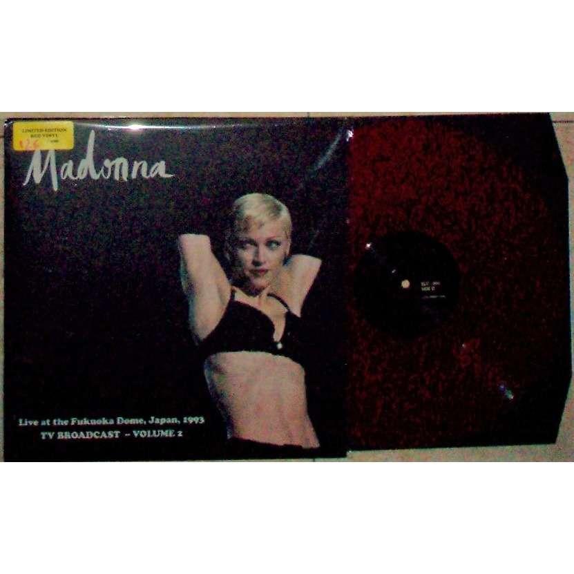 Madonna Live At the Fukuoka Dome Japan 1993 - TV Broadcast - Vol. 2 (Ltd 200 No'd copies LP PURPLE wax)