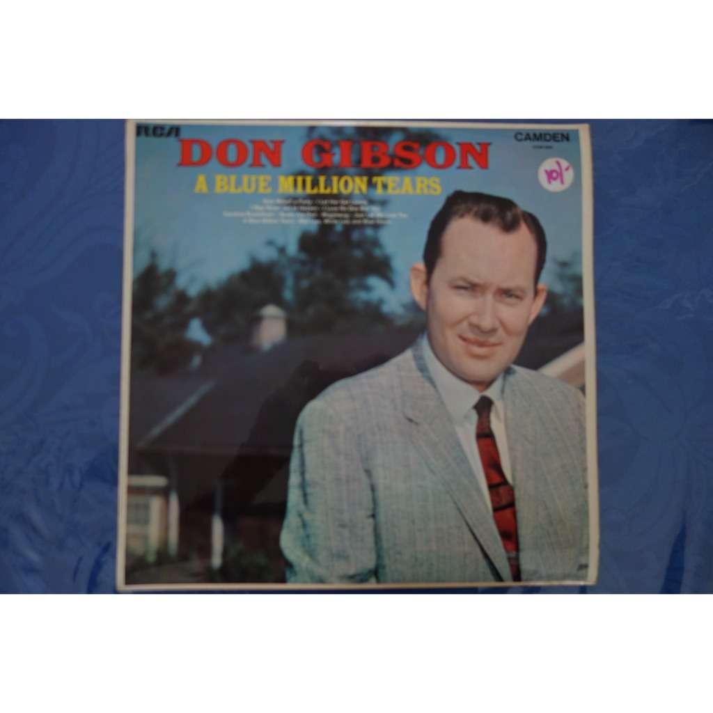 Don Gibson A blue million tears