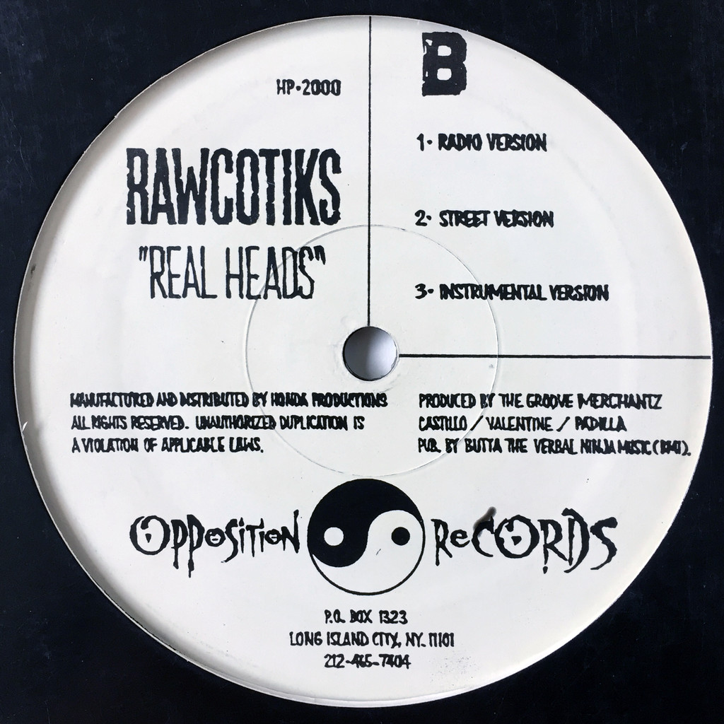 Rawcotiks Nevertheless / Real Heads