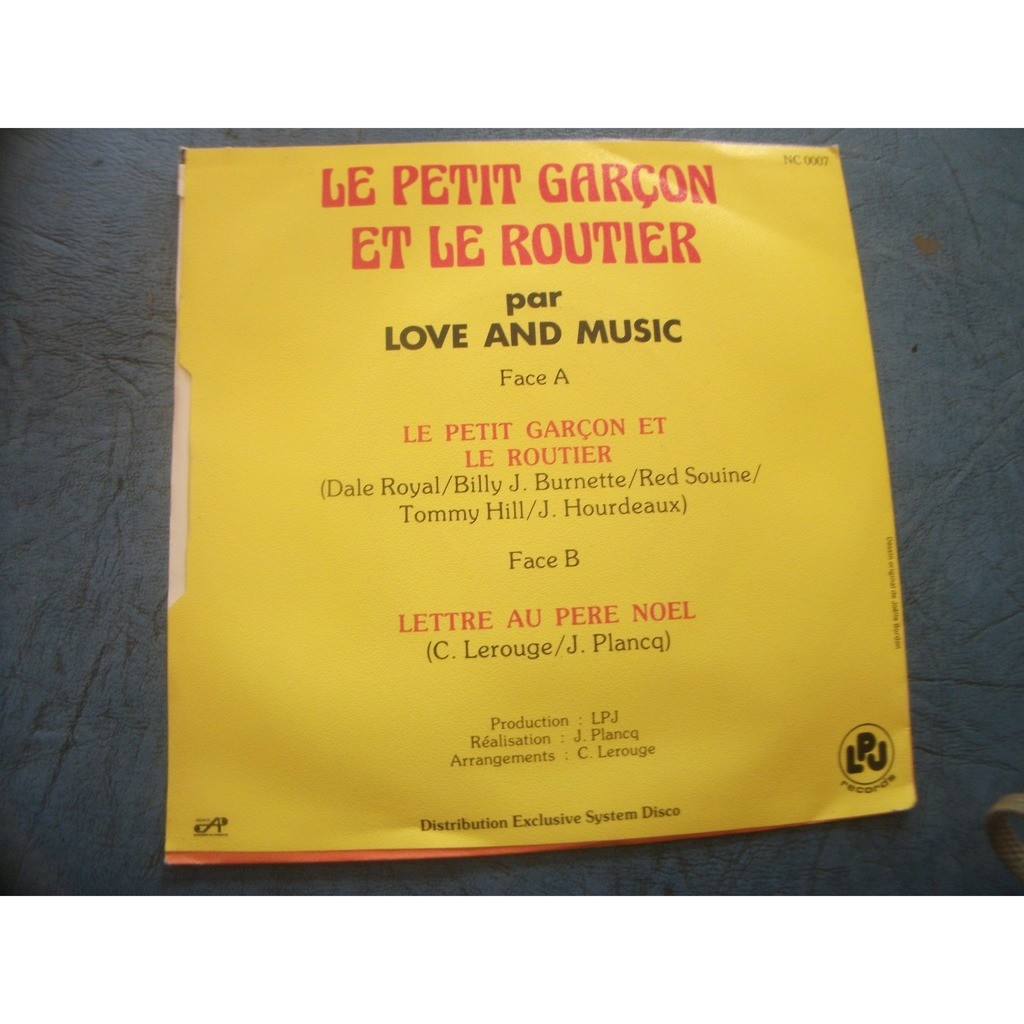 LOVE AND MUSIC LE PETIT GARCON ET LE ROUTIER
