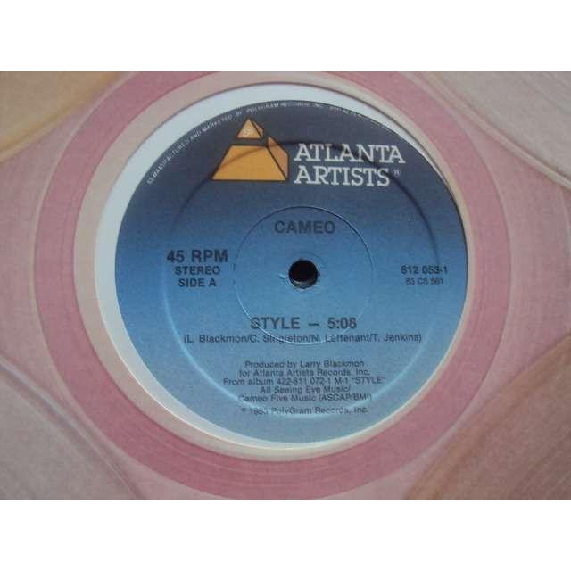 CAMEO STYLE (CLUB MIX 5'19 / VOCAL 5'08) 1983 USA