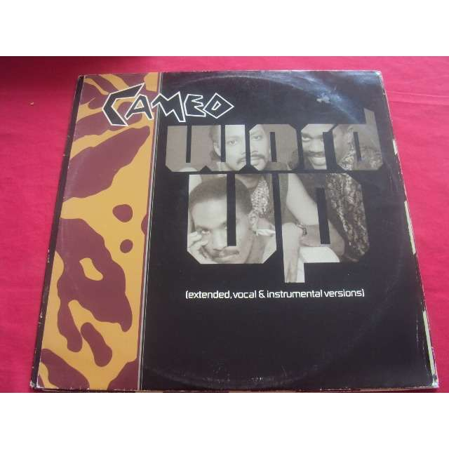 Cameo word up (extended version / 7 version / instrumental) 1985 uk