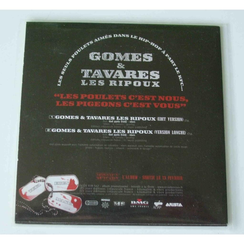 Gomes & Tavares Les ripoux (Mission suicide)