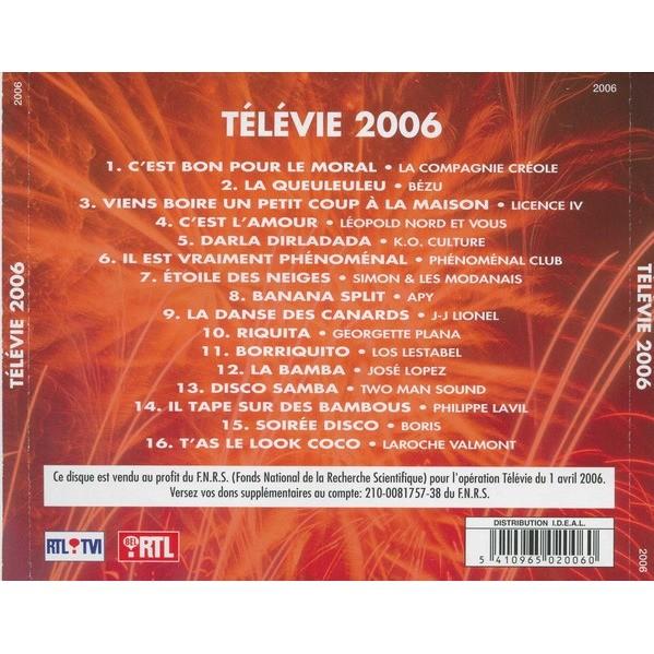 Two Man Sound / Compagnie Créole / J-J Lionel /Apy Télévie 2006