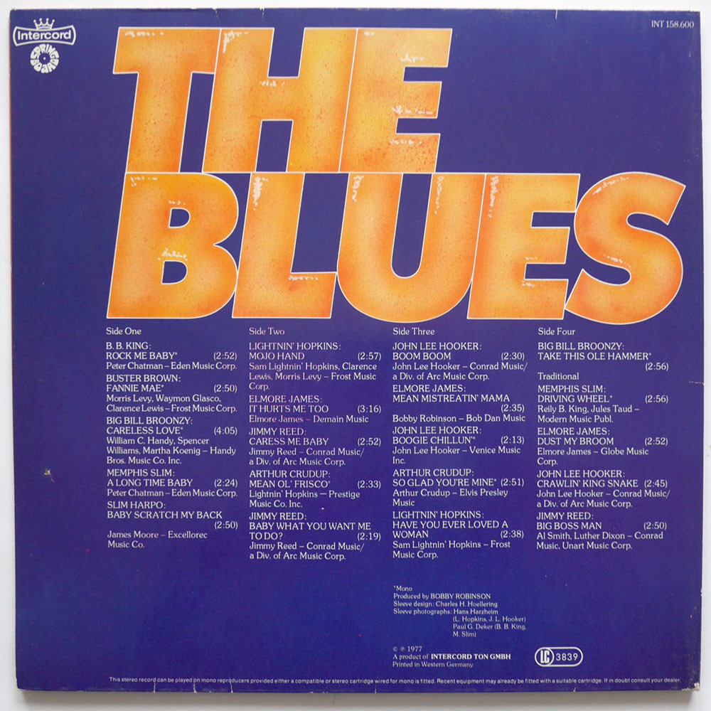 Various the blues