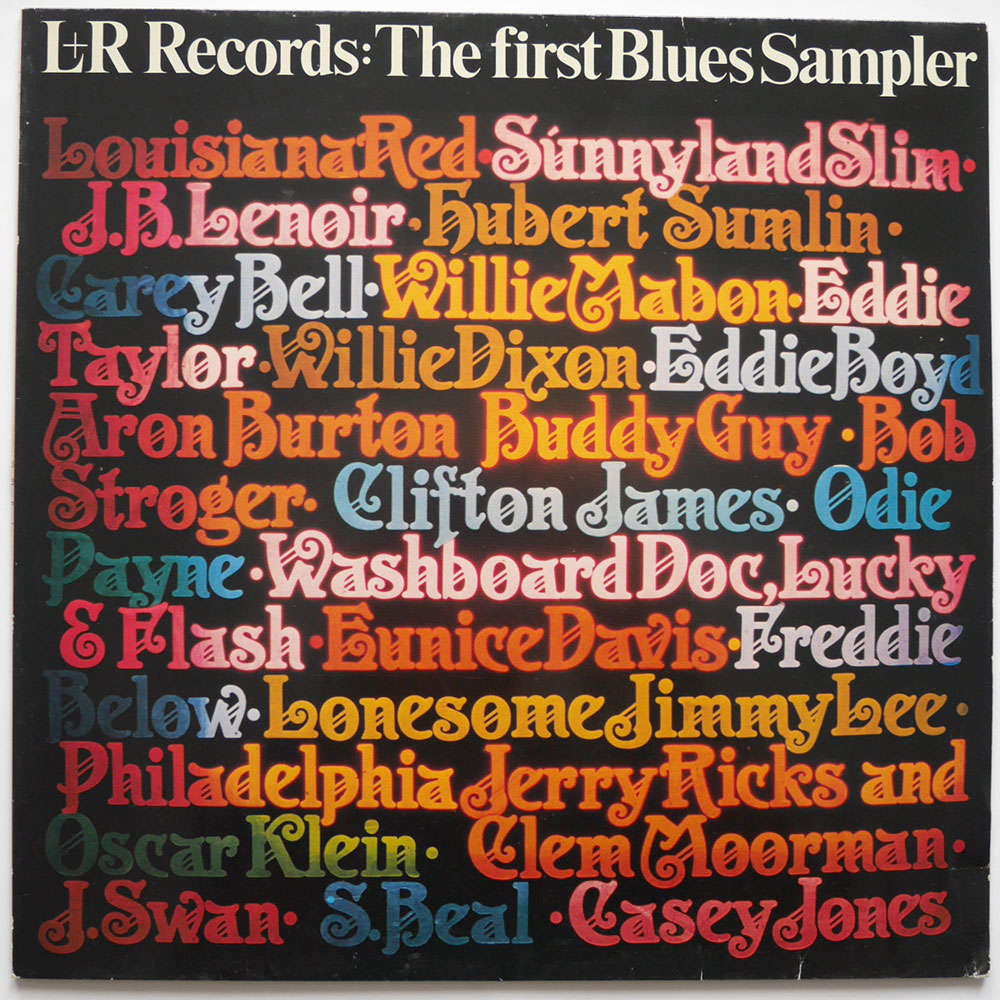 Various l+r records: the first blues sampler