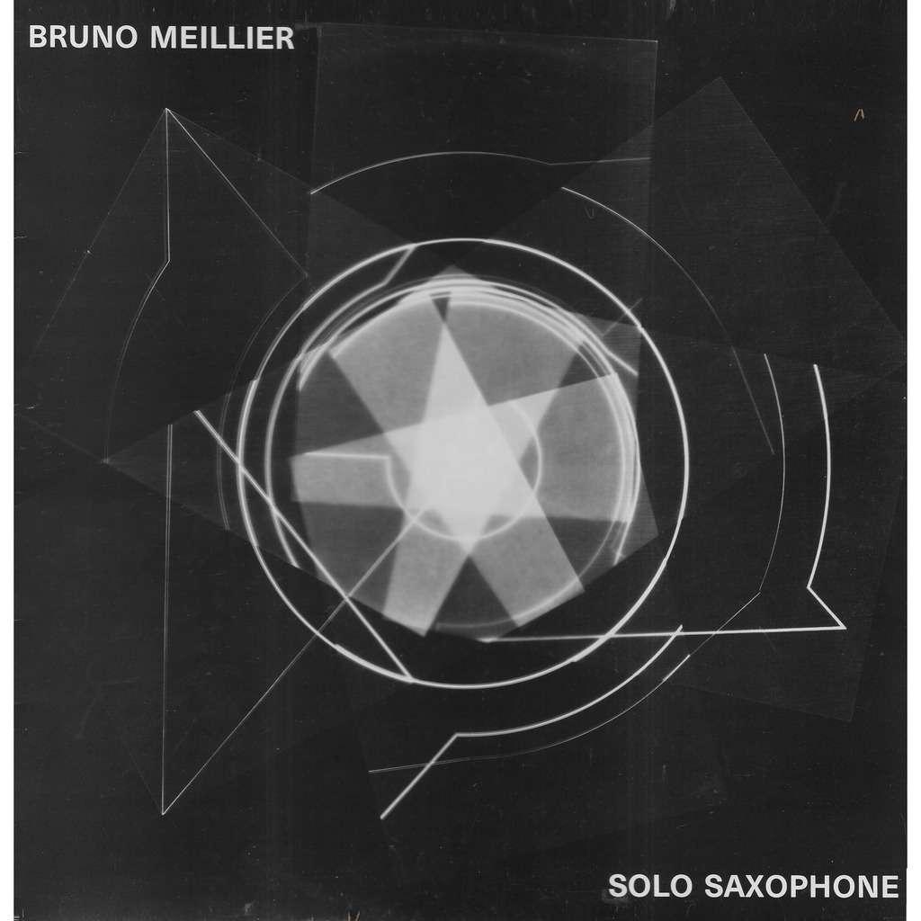 Bruno MEILLIER Solo Saxophone