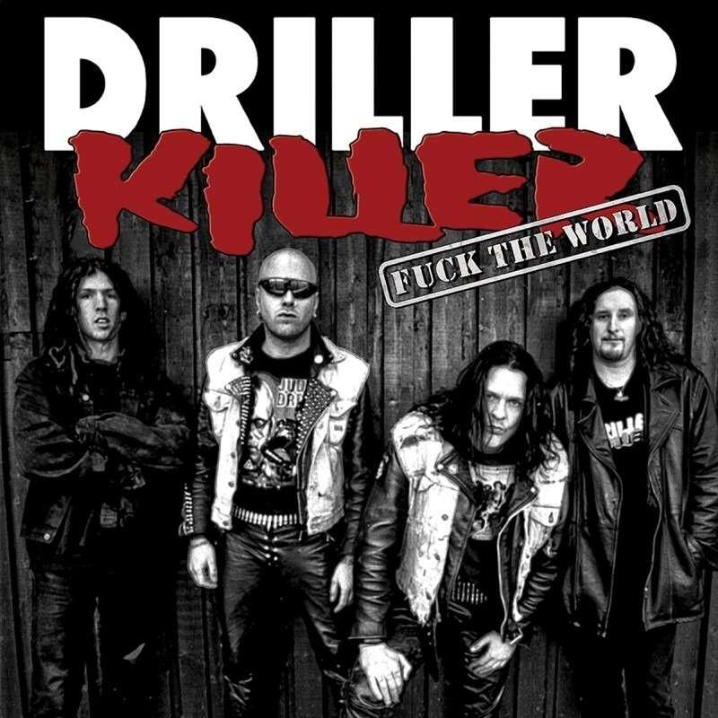 DRILLER KILLER Fuck The World. Neon Orange Vinyl