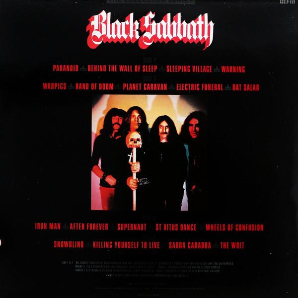 black sabbath the collection