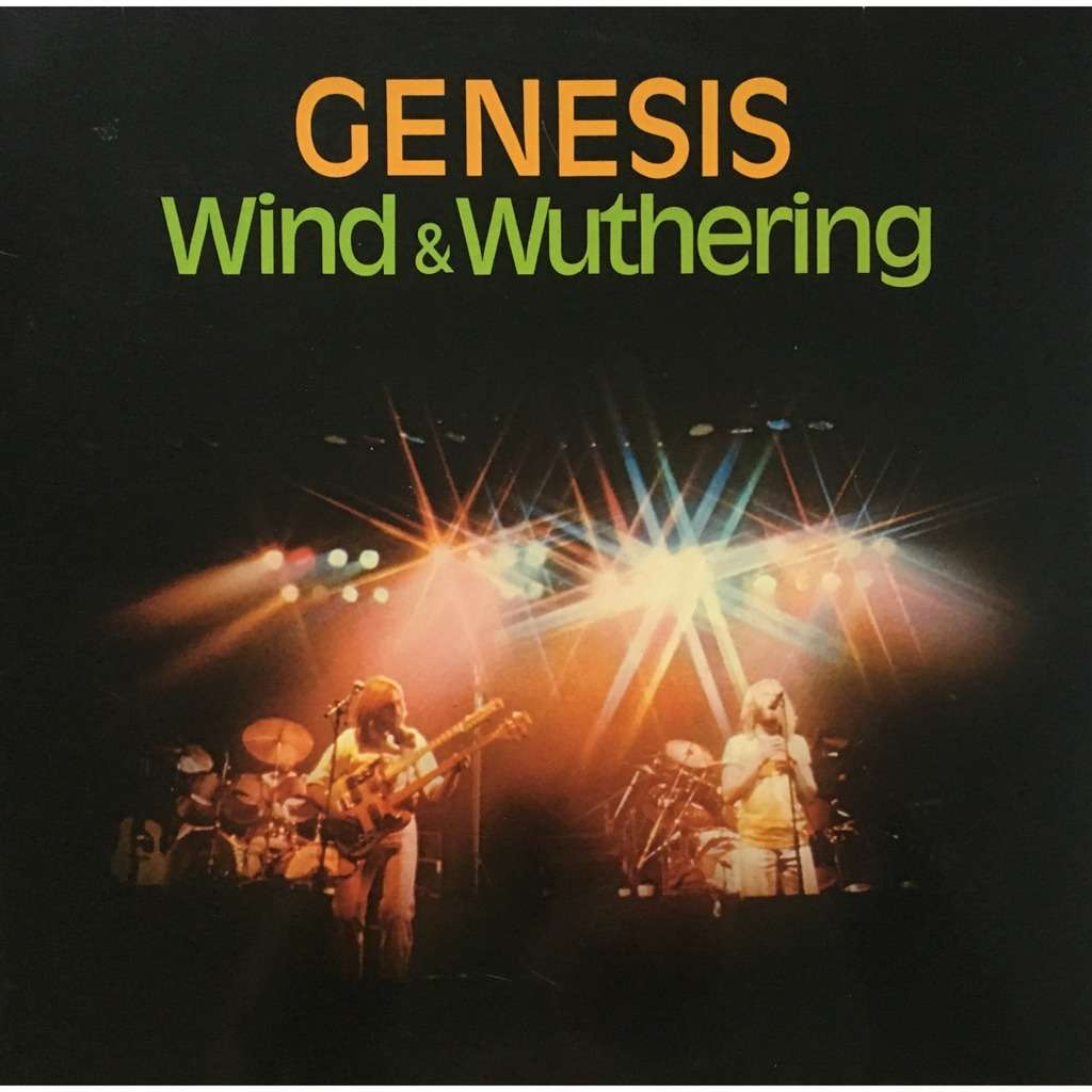 GENESIS - WIND & WUTHERING (AUS. PRESSING 12 VINYL LP FOR SWISS MARKET ONLY)