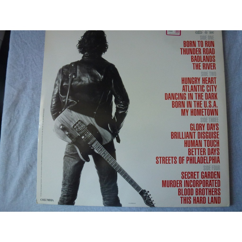 Bruce Springsteen Greatest Hits - ( very rare double lp 12 stéréo )
