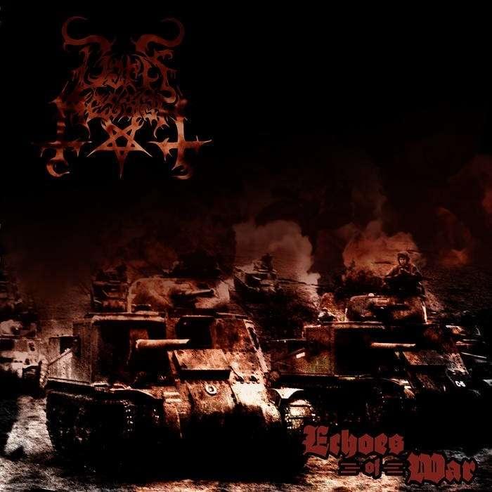DARK MESSIAH Echoes of War. Black Vinyl