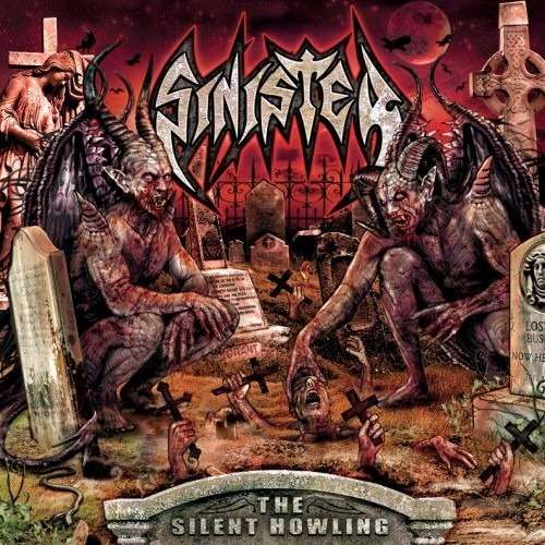 SINISTER The Silent Howling. Red Vinyl