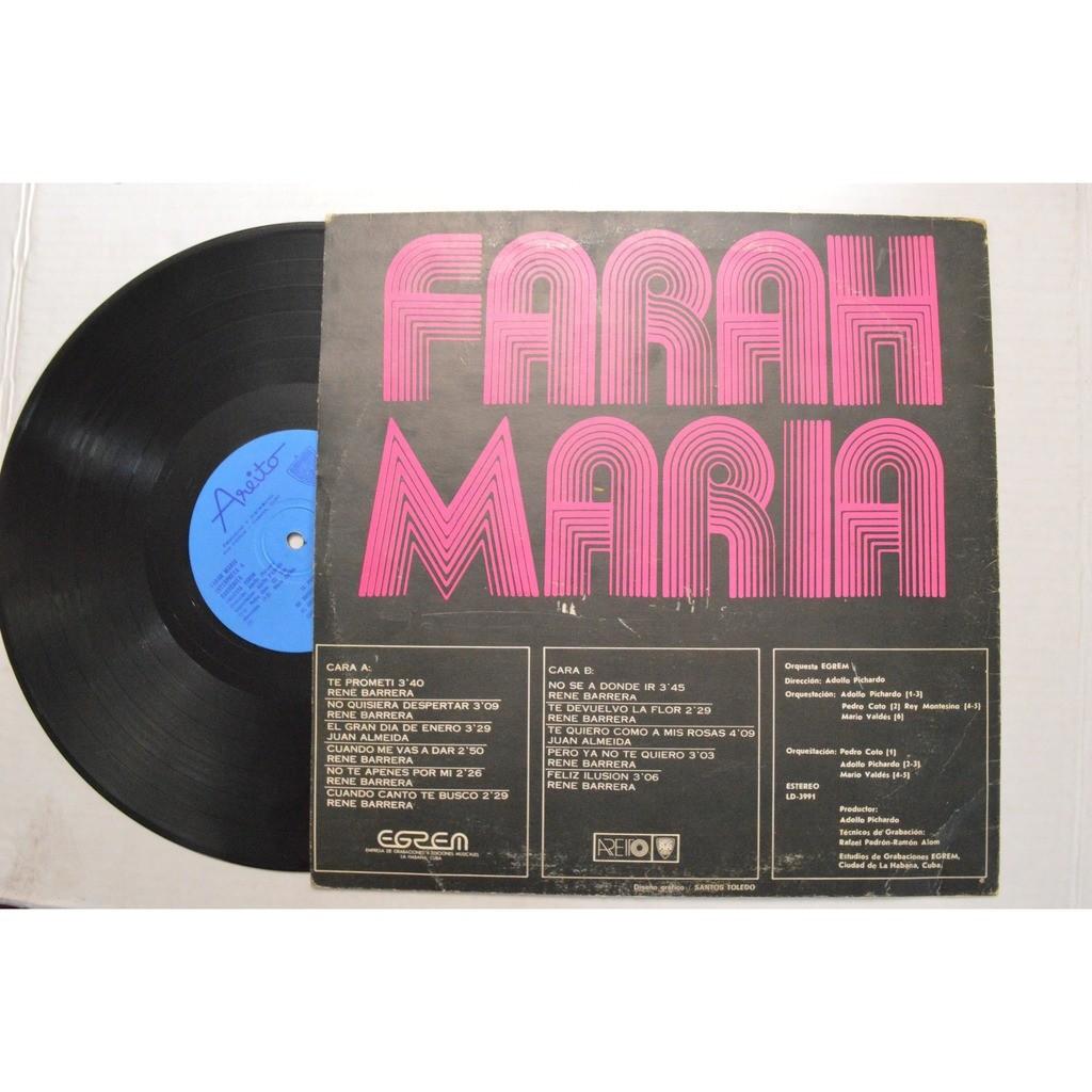 Farah Maria Interpreta A Barrerita