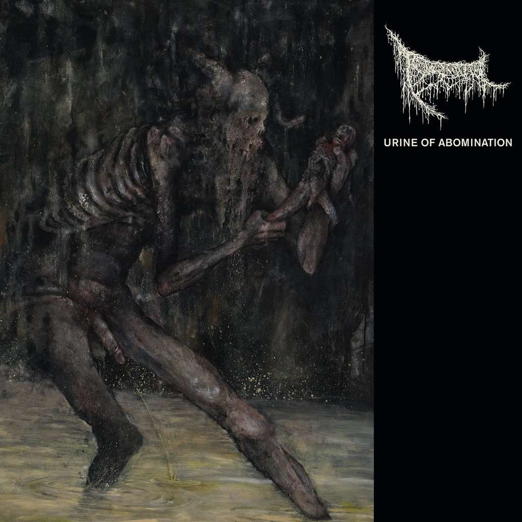 TRIUMVIR FOUL Urine of Abomination. Black Vinyl