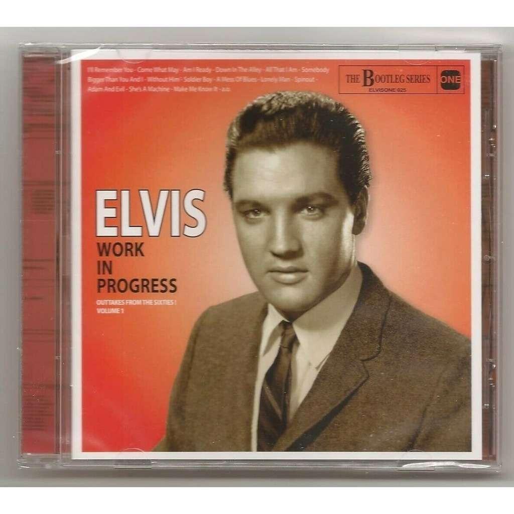 elvis presley 1 cd work in progress vol.1 cd 29 outtakes