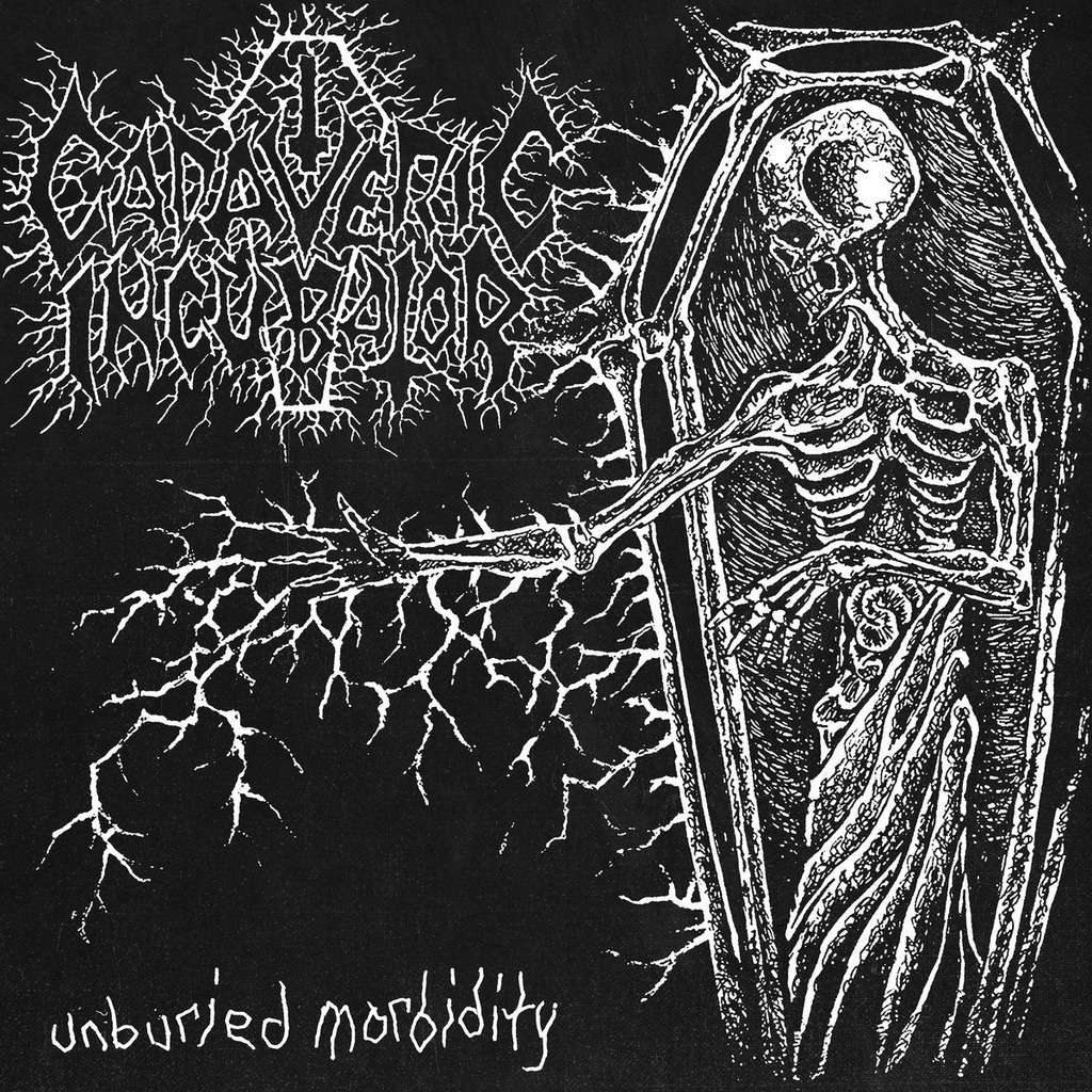 CADAVERIC INCUBATOR Unburied Morbidity. White Vinyl