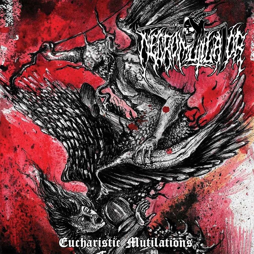 NECROMUTILATOR Eucharistic Mutilations. Black Vinyl