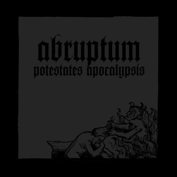 ABRUPTUM Potestates Apocalypsis. Black Vinyl