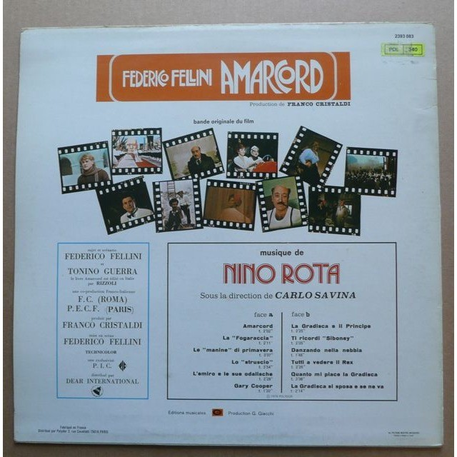 Nino Rota  Amarcord