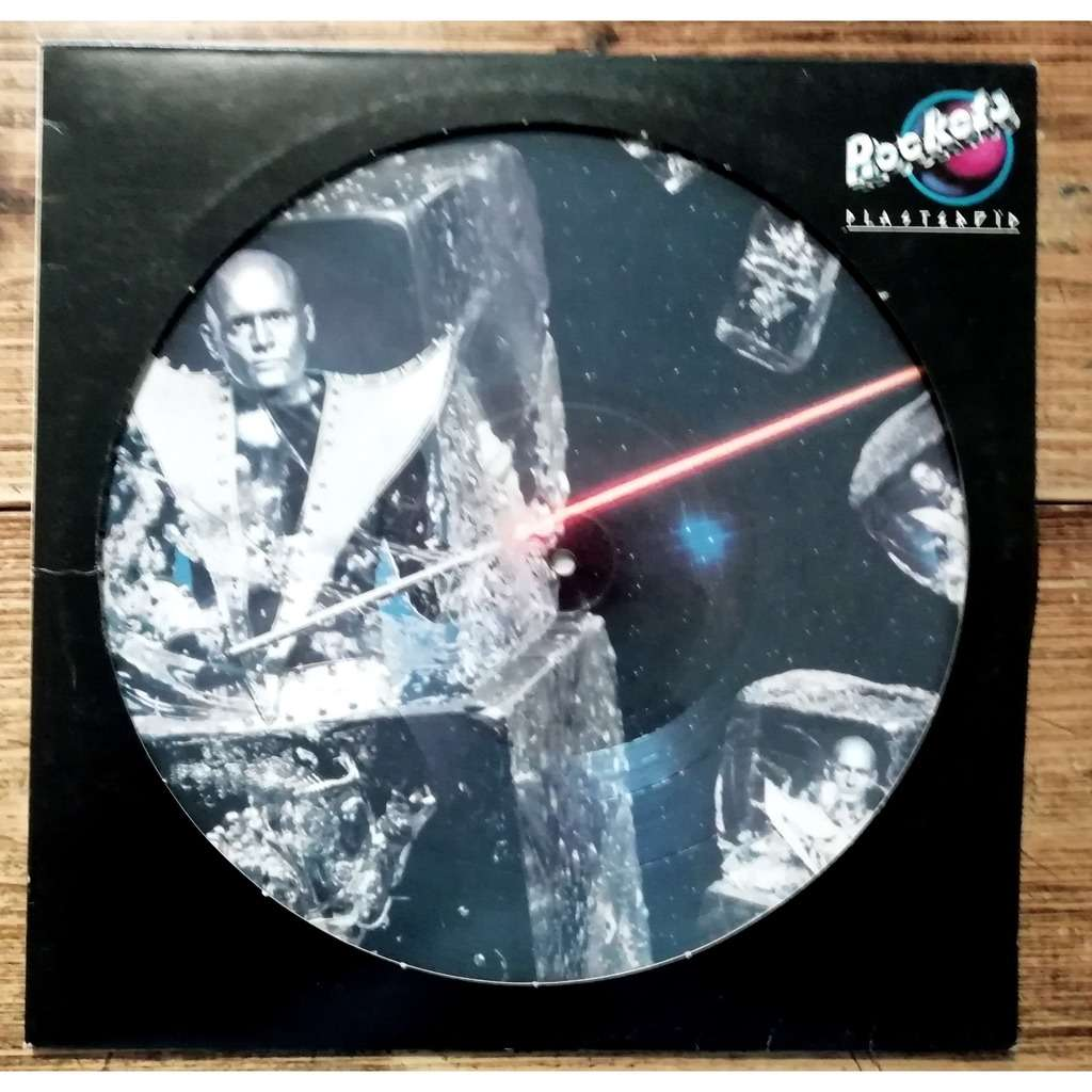 ROCKETS- picture disc plasteroid -cosmic electro groove